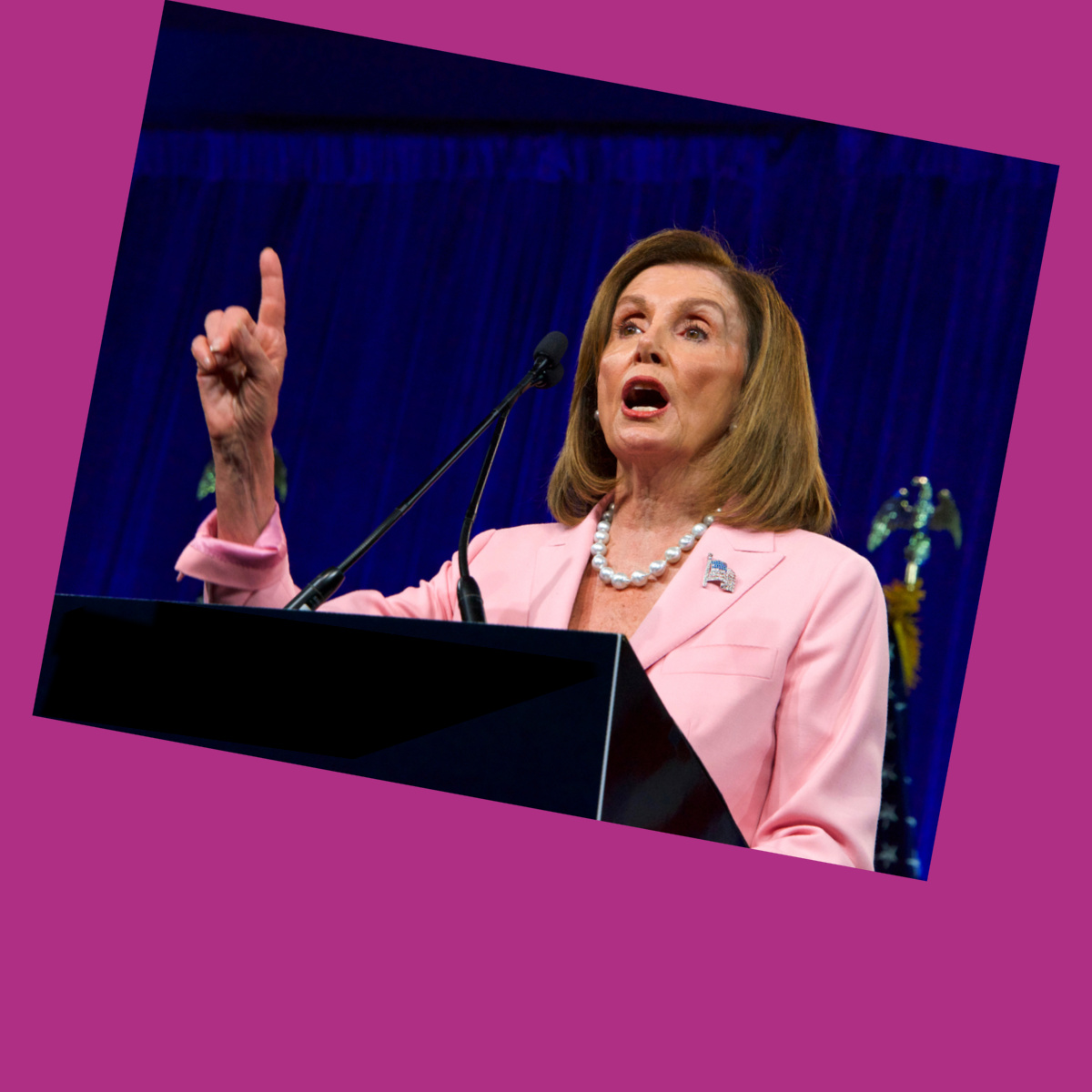 Nancy Pelosi's rise to power has nothing to do with feminism